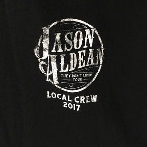 Jason Aldean Tour Local Crew T-Shirts